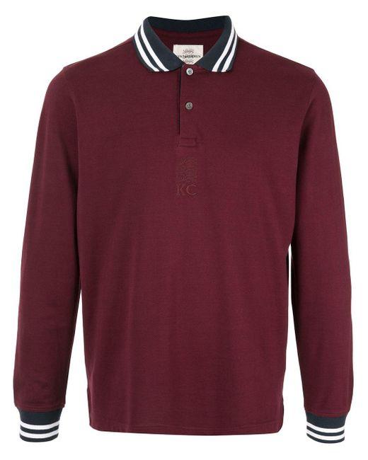 メンズ Kent & Curwen ストライプ ポロシャツ Multicolor