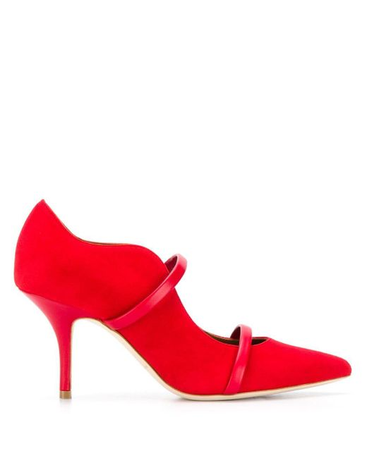 Malone Souliers Maureen パンプス Red