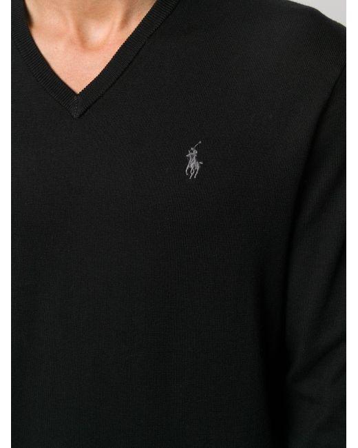 メンズ Polo Ralph Lauren エンブロイダリー プルオーバー Black