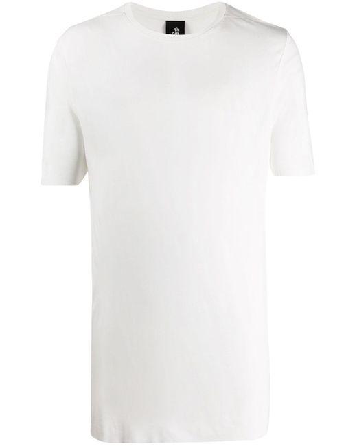 メンズ Thom Krom ロングライン Tシャツ White