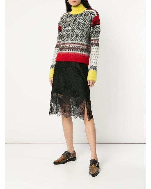 Sweater Knit Print N°21 Multicolor Lyst Winter zTxR0