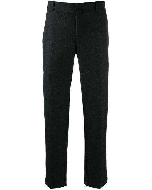 メンズ Prada プリーツ テーラードパンツ Black