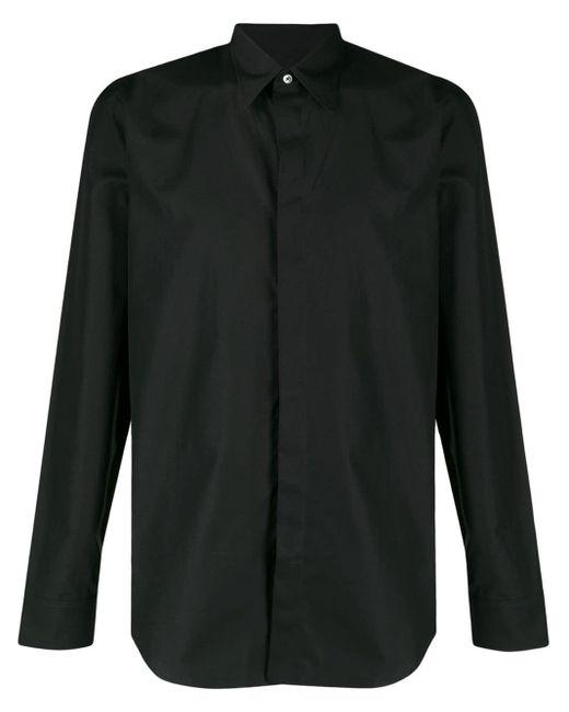 メンズ Maison Margiela テーラード シャツ Black