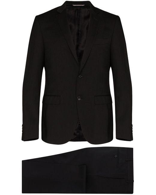 メンズ Canali ツーピース スーツ Black
