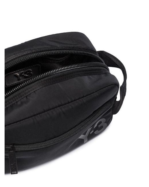 メンズ Y-3 トラベルポーチ Black