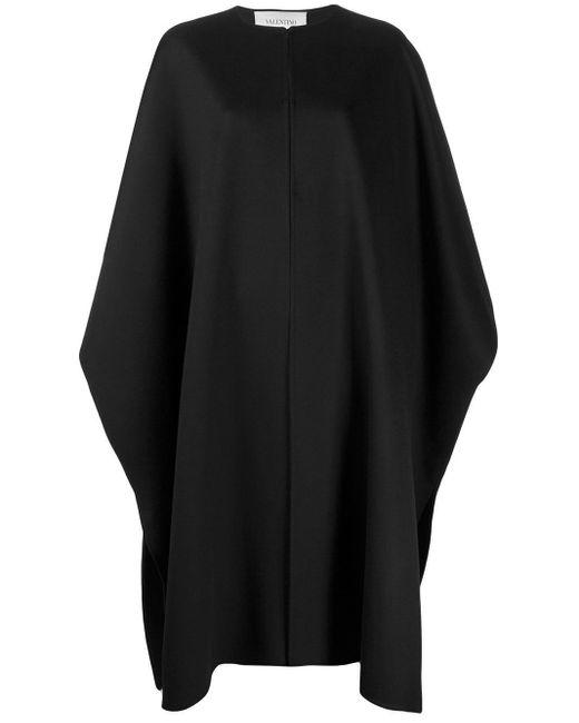 Valentino オーバーサイズ ケープ Black