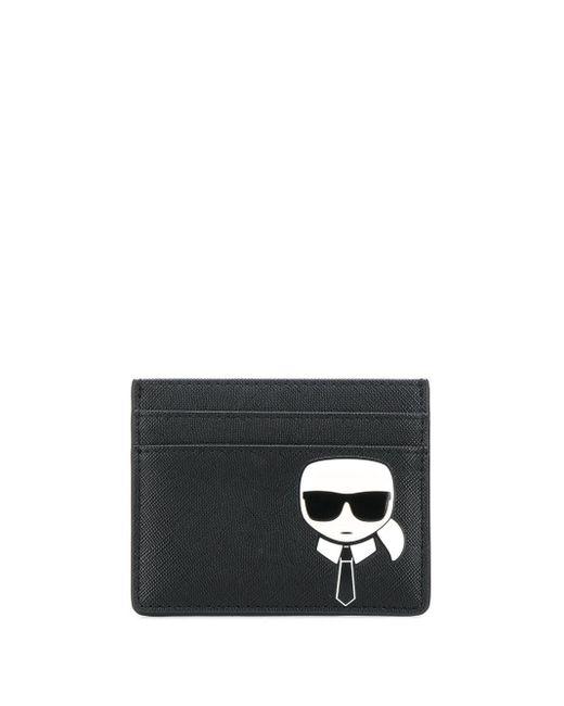 Картхолдер K/ikonik Karl Lagerfeld, цвет: Black