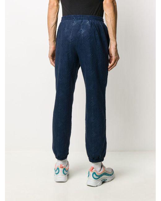 メンズ Fila ロゴ スウェットパンツ Blue