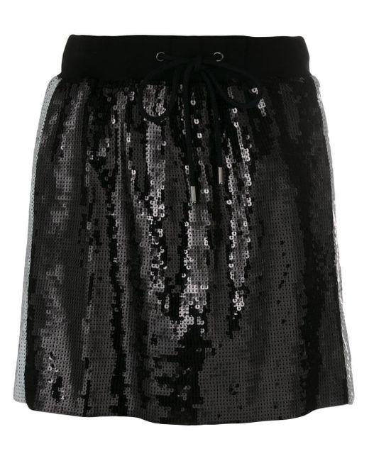 Alberta Ferretti スパンコール スカート Black