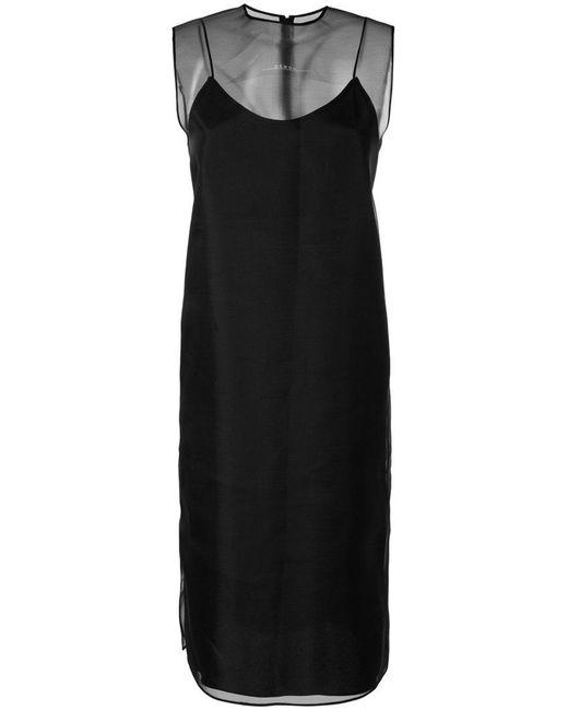 Demoo Parkchoonmoo - Black Organza Sleeveless Dress - Lyst