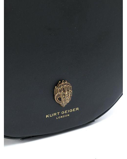 Kurt Geiger ラウンド ハンドバッグ Black