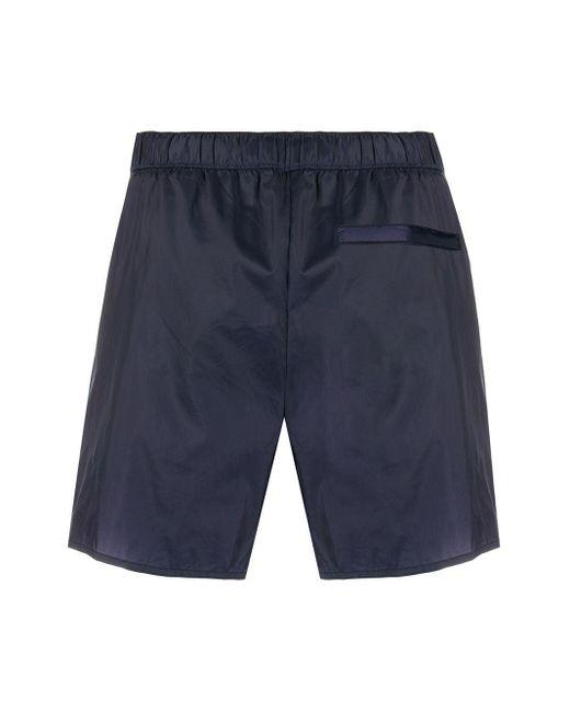 Acne Studios Men's Blue Drawstring Swim Shorts