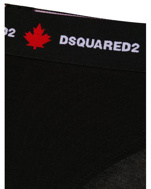 DSquared² ジャカードロゴ ショーツ Black