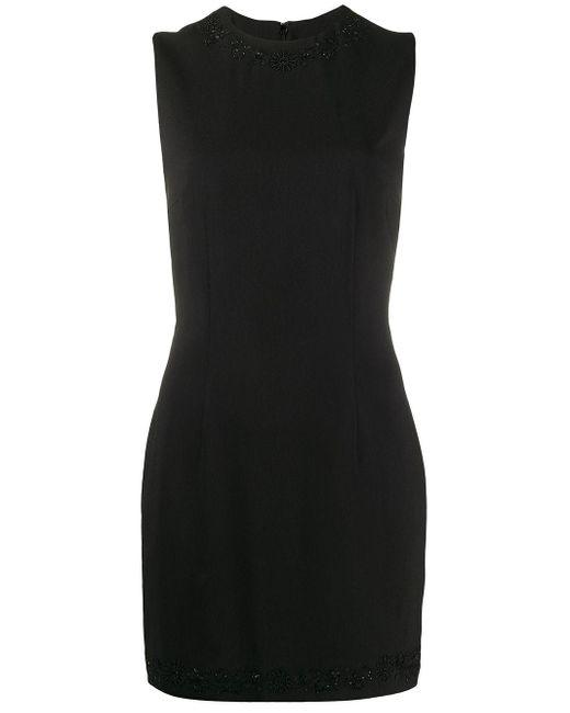 DSquared² ビーズトリム ドレス Black