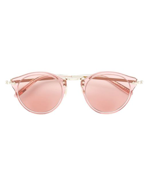 Oliver Peoples ボストン サングラス Pink
