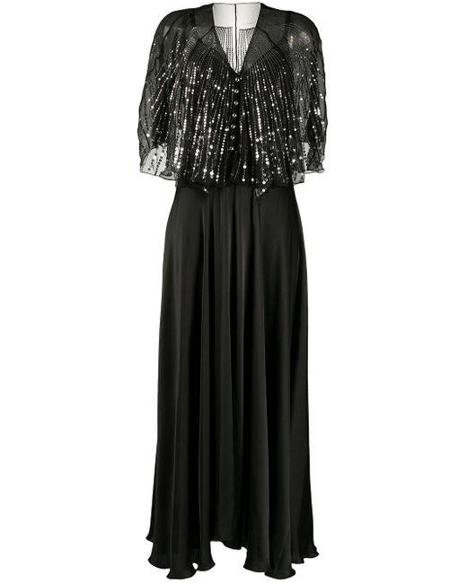 Paco Rabanne スパンコール ドレス Black