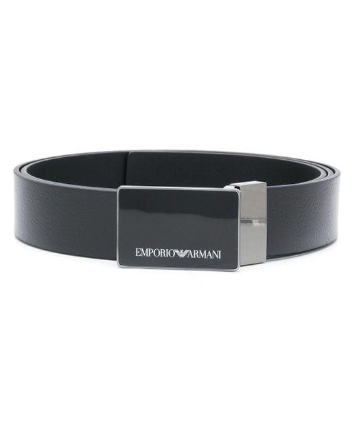 Ремень С Логотипом Emporio Armani для него, цвет: Black