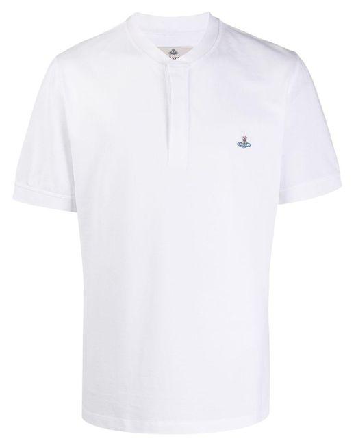 メンズ Vivienne Westwood Orb ポロシャツ White