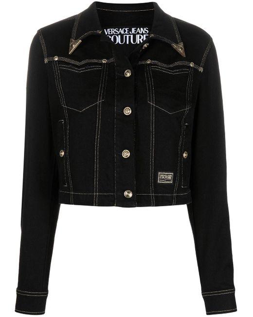 Versace Jeans デニムジャケット Black