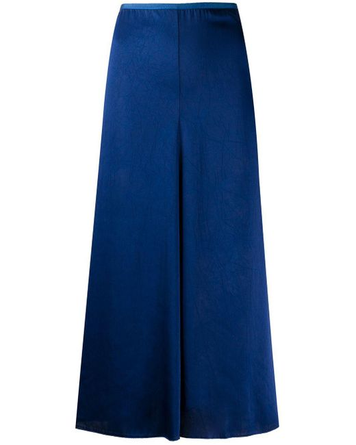 Forte Forte ハイウエスト スカート Blue