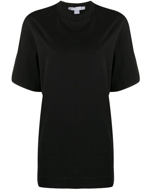 T-shirt con stampa di Y-3 in Black