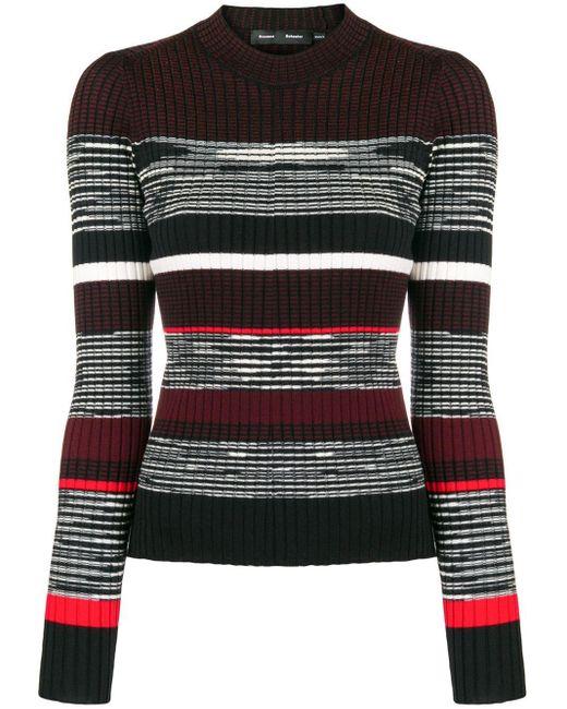 Proenza Schouler ストライプ セーター Multicolor