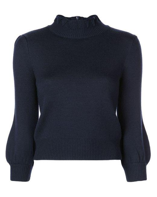 Co. バブルスリーブ セーター Blue