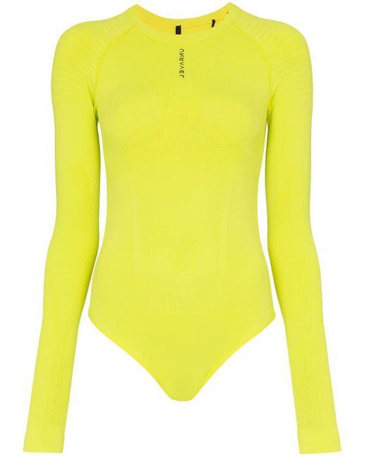 Unravel Project ボディスーツ Yellow