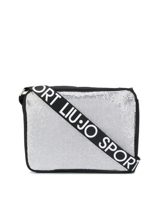 Liu Jo ロゴ ショルダーバッグ Metallic