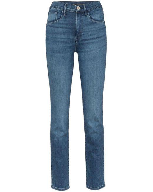 3x1 Blue W3 Authentic Skinny Jeans