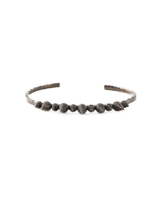 Joelle Jewellery | Black 'spike' Bangle | Lyst