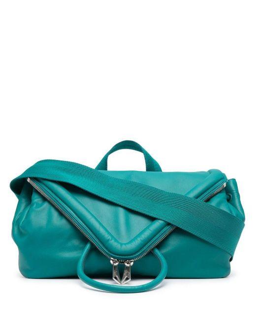Поясная Сумка-конверт Bottega Veneta для него, цвет: Green