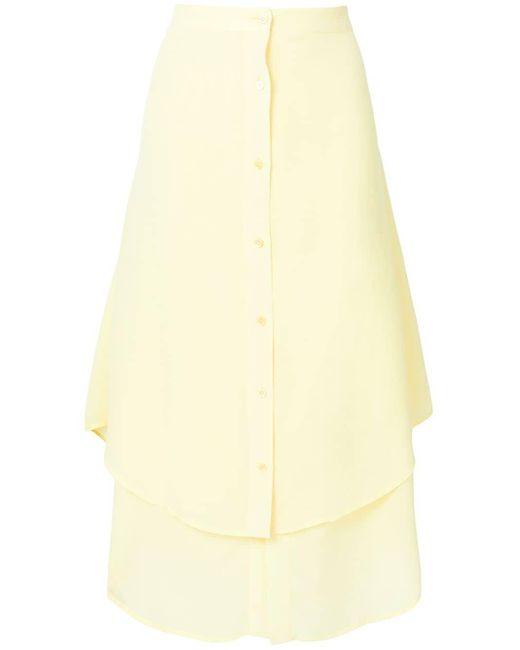 Sies Marjan レイヤード スカート Yellow