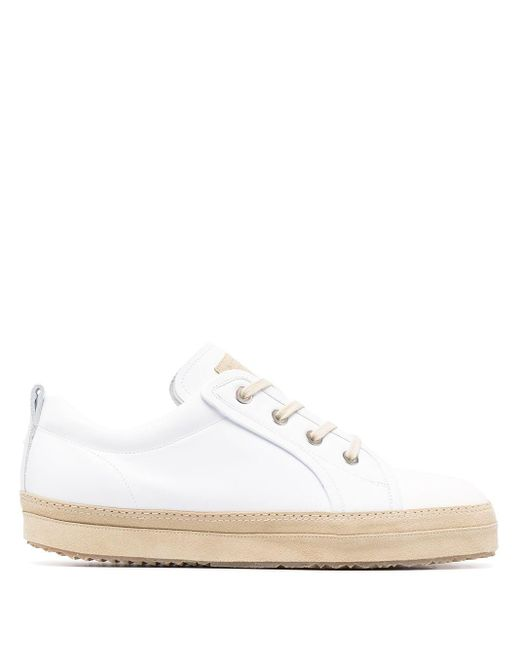 Maison Margiela White Replica Low-top Sneakers for men