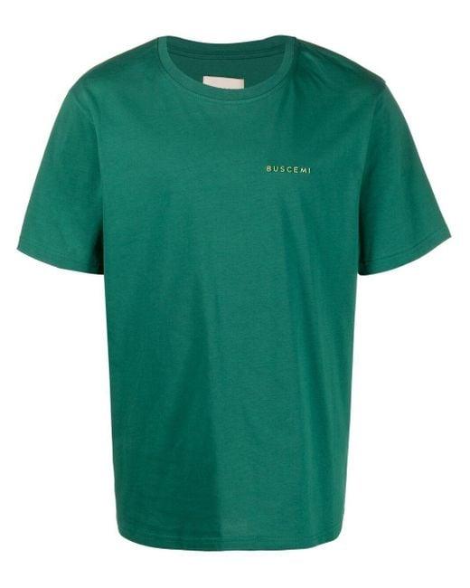メンズ Buscemi ロゴ Tシャツ Green
