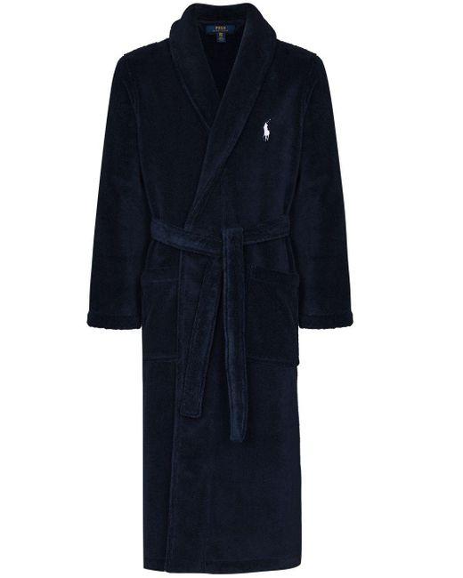 メンズ Polo Ralph Lauren ロゴ ローブ Blue