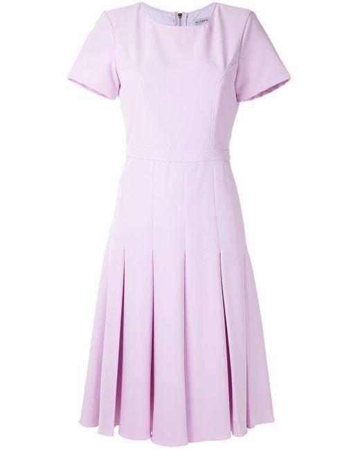 Olympiah Salci プリーツ ドレス Purple