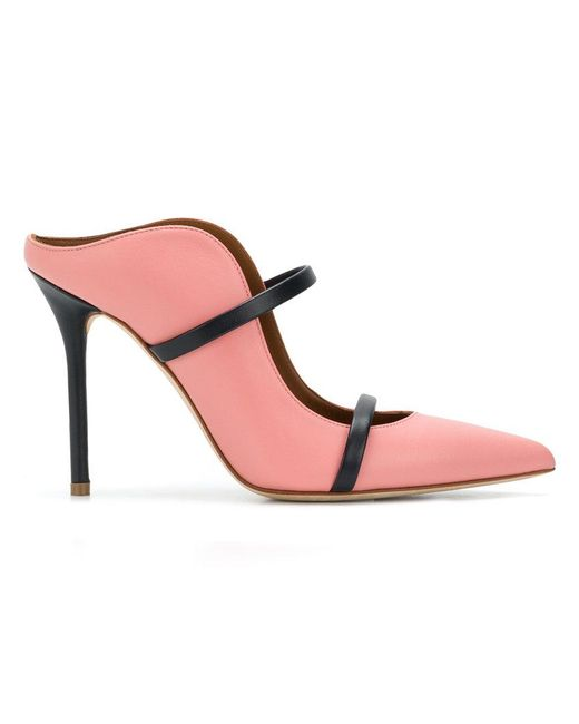 Malone Souliers - Pink Maureen Mules - Lyst