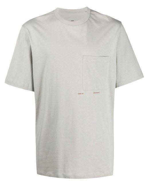 メンズ OAMC チェストポケット Tシャツ Gray