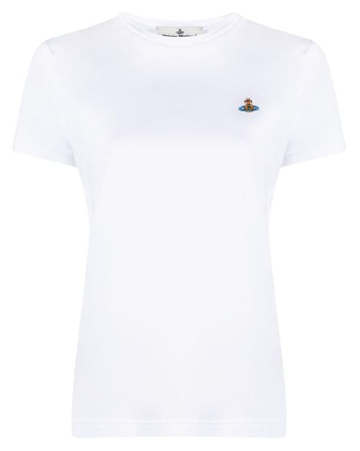 Vivienne Westwood ロゴ Tシャツ White