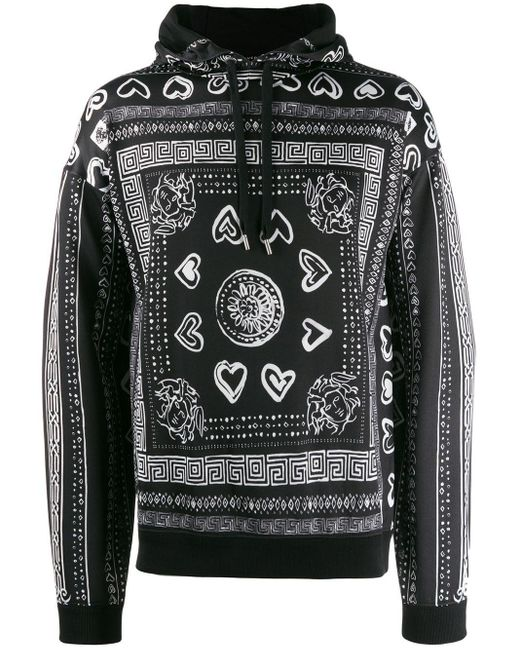 メンズ Versace バロックプリント セーター Multicolor