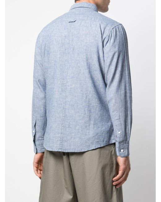Chemise Abe Onia pour homme en coloris Blue