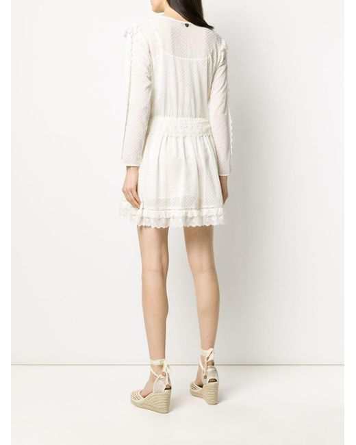 Twin Set シフト ミニドレス White