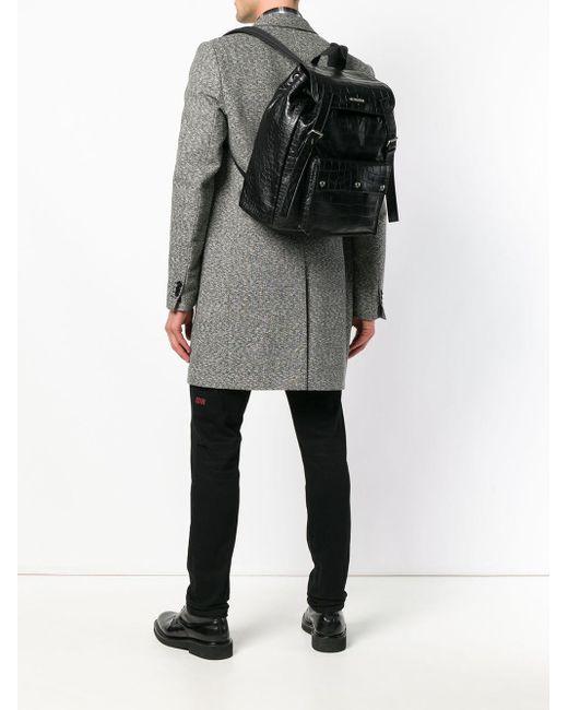 f1187bc61 ... Saint Laurent - Black Noé Backpack for Men - Lyst ...