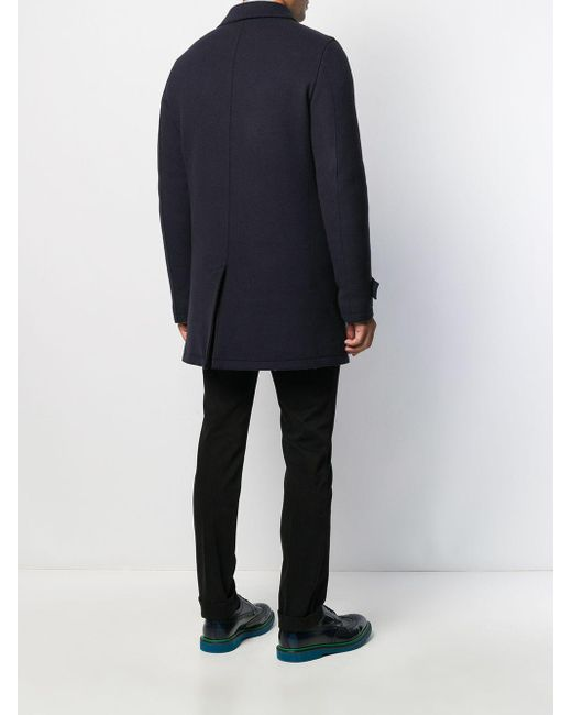 Manteau à doublure matelassée Herno pour homme en coloris Blue