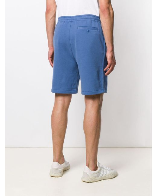 メンズ Polo Ralph Lauren ロゴ トラックショーツ Blue