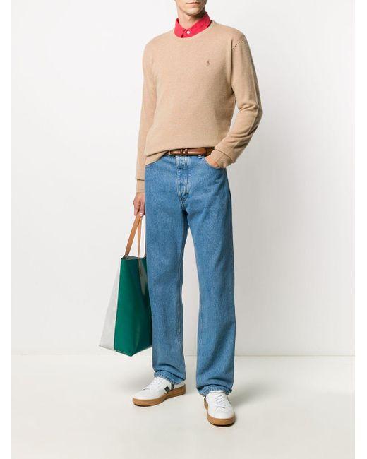 メンズ Polo Ralph Lauren カシミア プルオーバー Brown