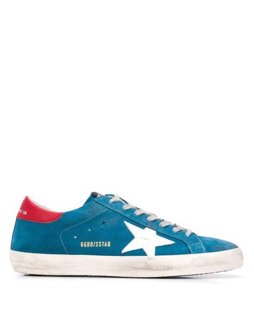 メンズ Golden Goose Deluxe Brand Superstar スニーカー Blue