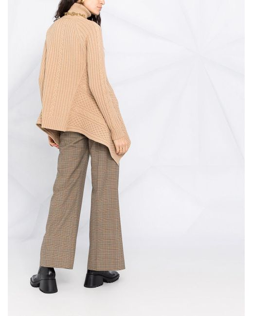 Водолазка С Асимметричным Подолом Alexander McQueen, цвет: Multicolor