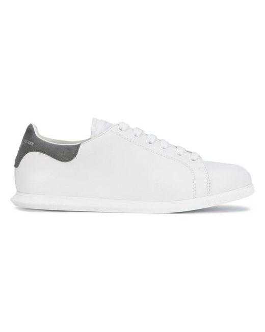 Alexander McQueen | White Sneakers Basse | Lyst